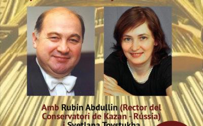CONCERT D'ÒRGUE DE RUBIN ABDULLIN A MONTSERRAT